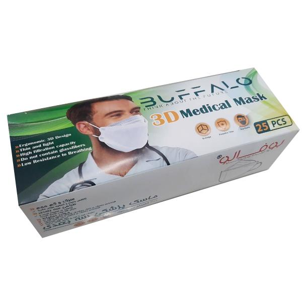 ماسک سه بعدی بوفالو kf94